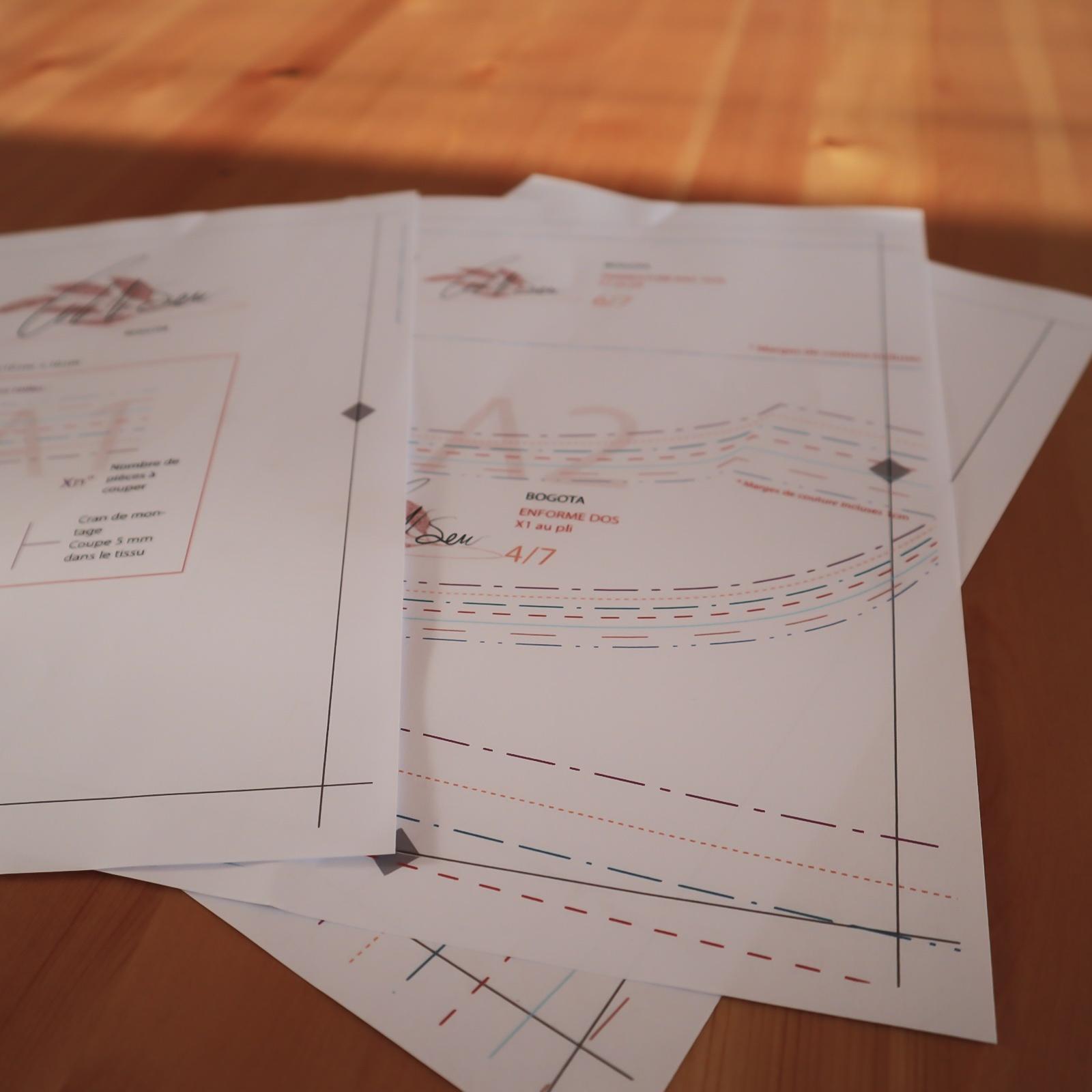patron couture pdf cut n sew