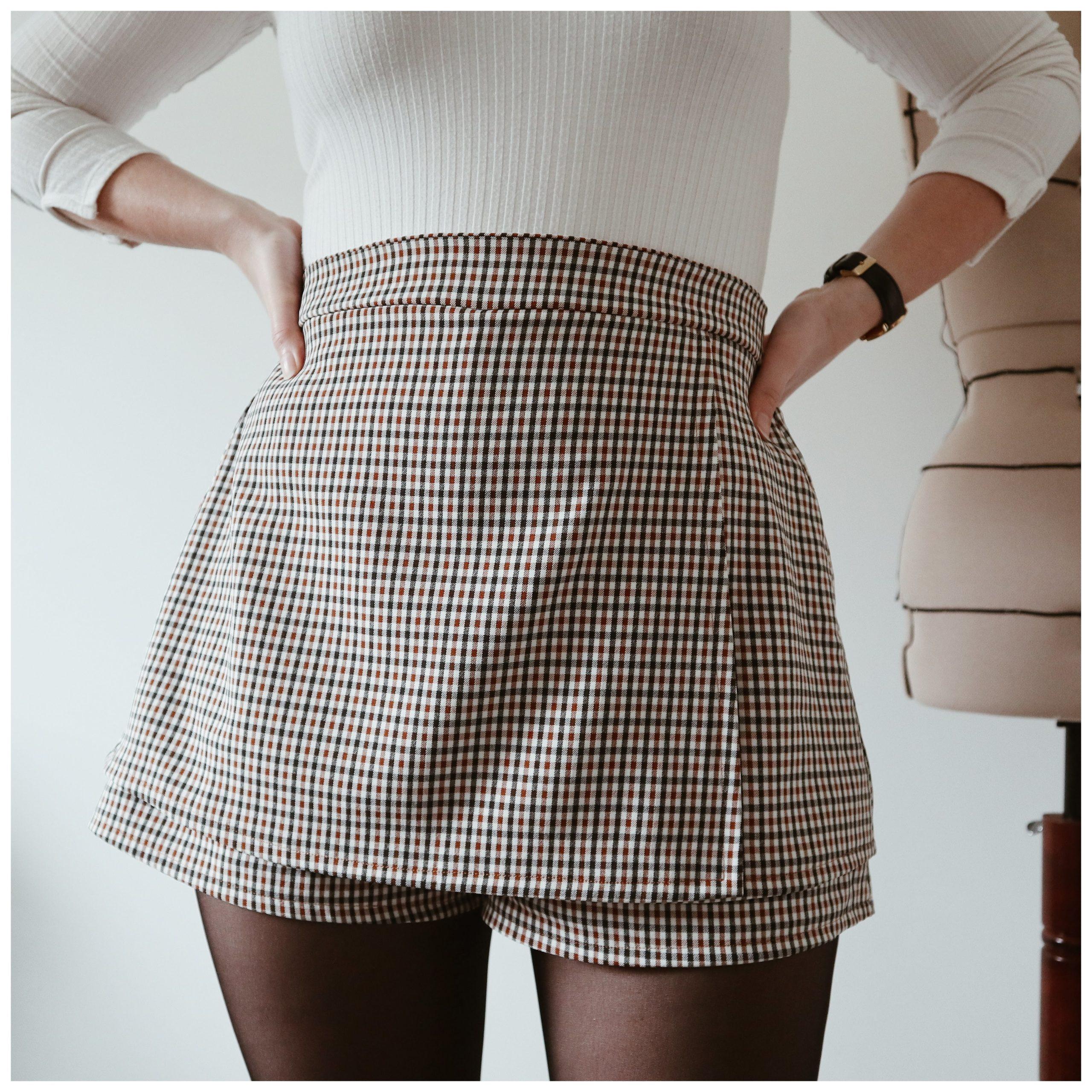Rio bis jupe short patron de couture PDF
