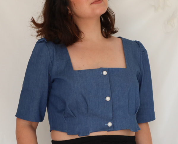 bogota-chemise courte - patron de couture