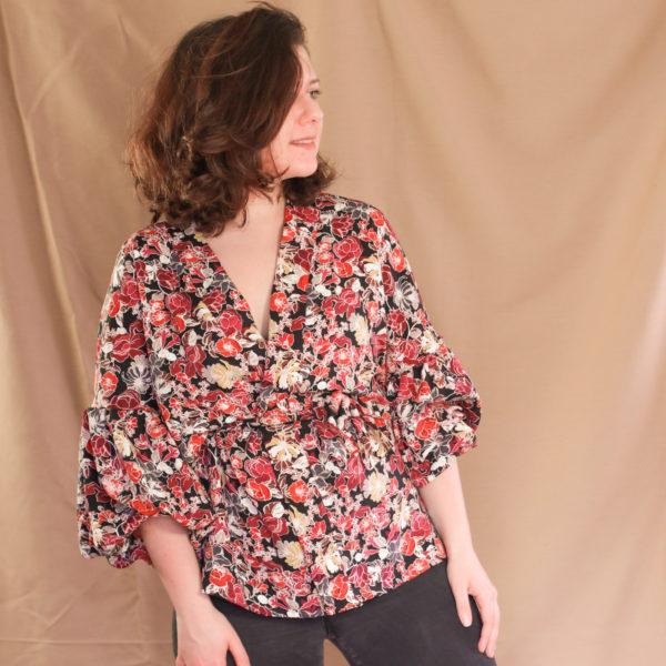 leticia kimono patron de couture